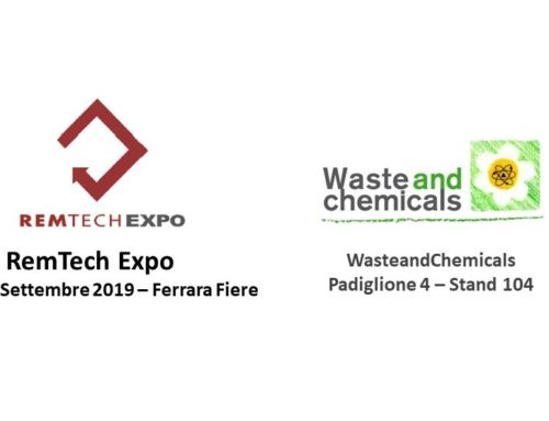 WasteandChemicals al RemTech Expo di Ferrara