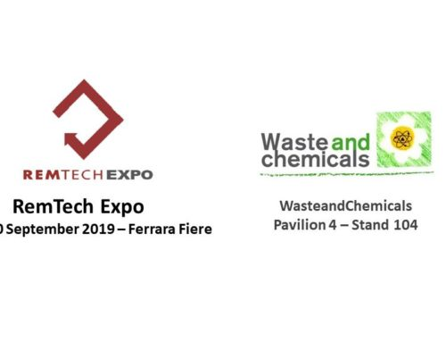 WasteandChemicals at the RemTech Expo of Ferrara