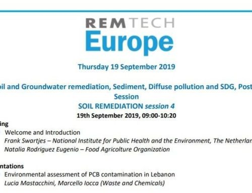 WasteandChemicals will attend the conference session of RemTech Europe