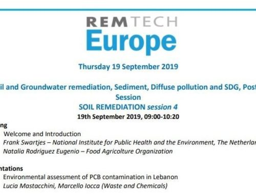 WasteandChemicals interverrà alla sessione congressuale di RemTech Europe