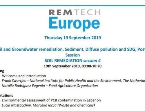 WasteandChemicals interverrà alla sessione congressuale di RemTech Europe
