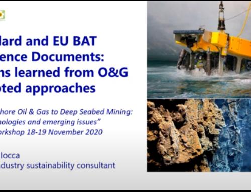 Dall'estrazione offshore di idrocarburi allo sfruttamento minerario dei fondali marini