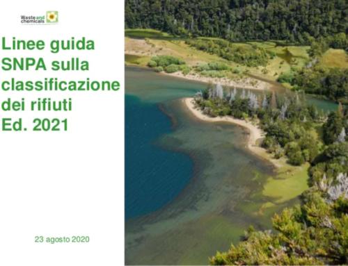 Approvazione del MITE delle Linee Guida SNPA sulla classificazione dei rifiuti