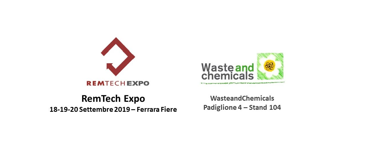 WasteandChemicals al RemTech Expo di Ferrara