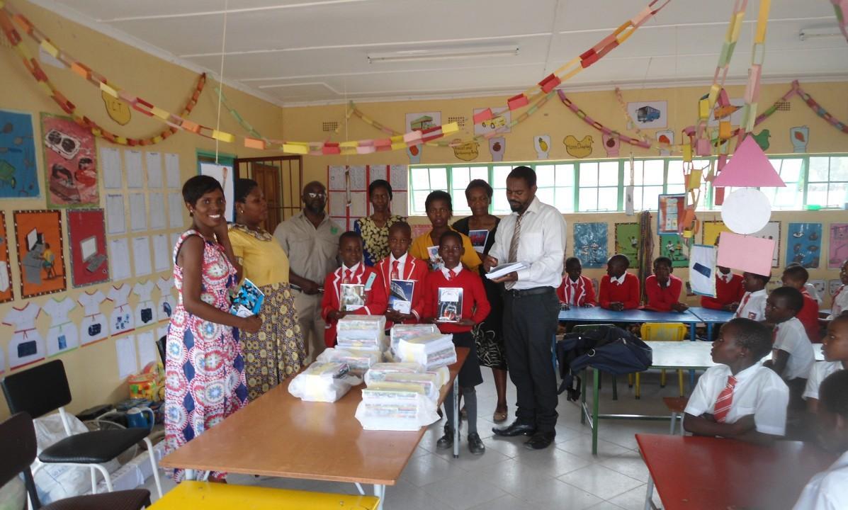 Campagna di comunicazione nelle scuole di Marondera sulla gestione dei rifiuti